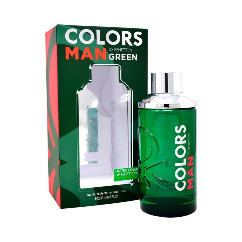 Benetton Colors Green Man 200Ml