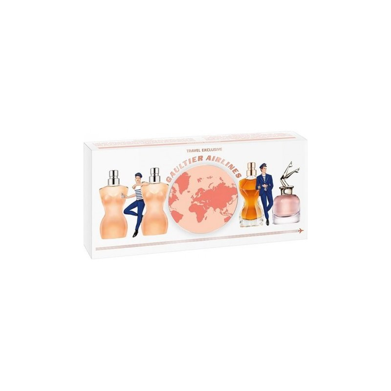 Set 4 Miniaturas Jean Paul Gaultier Mujer
