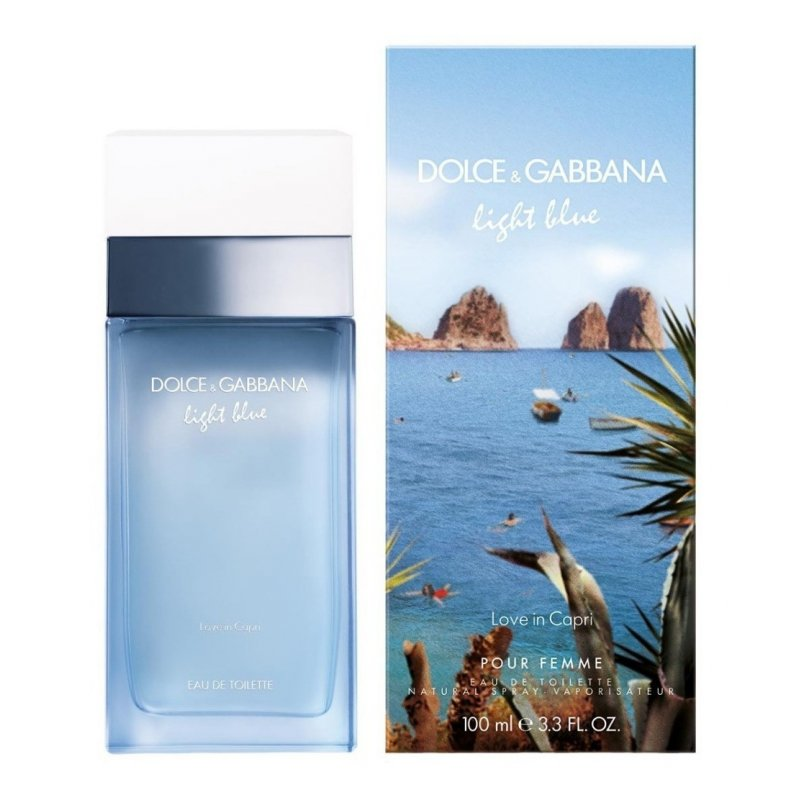 Light Blue Love Of Capri 100Ml Dama