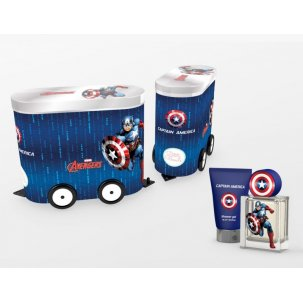 Capitan America Wagon 50ml Set