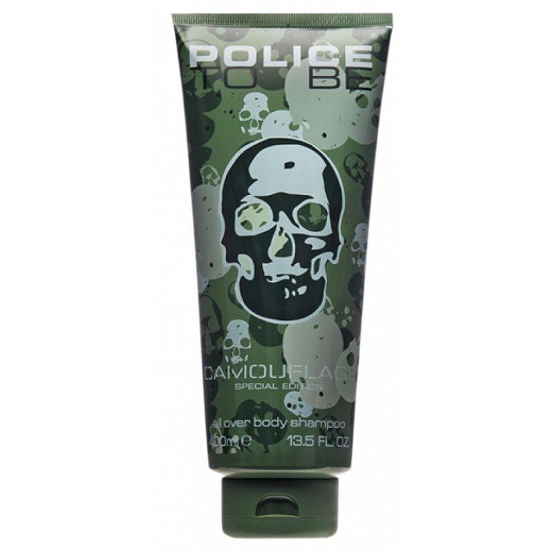 Police To Be Camouflage 400Ml Body Shampoo