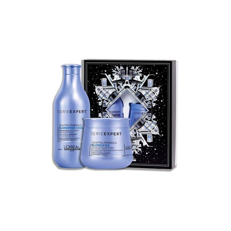 Pack Loreal Blondifer Shampoo 300Ml+ Mascarilla 250Ml
