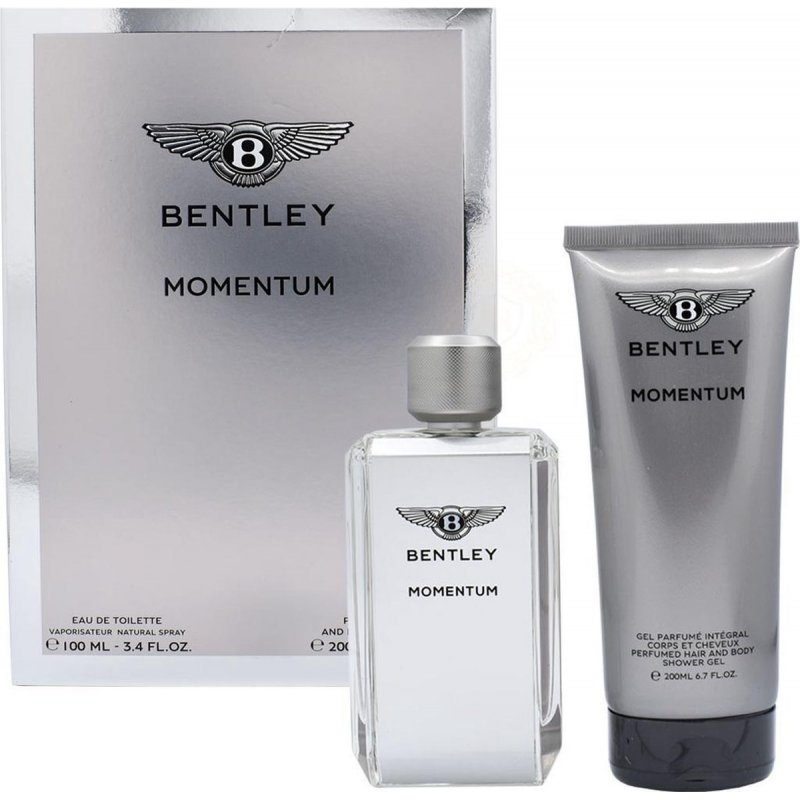 Bentley Momentum 100Ml + Sg 200Ml
