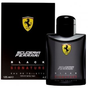 Ferrari Black Signature 125ml